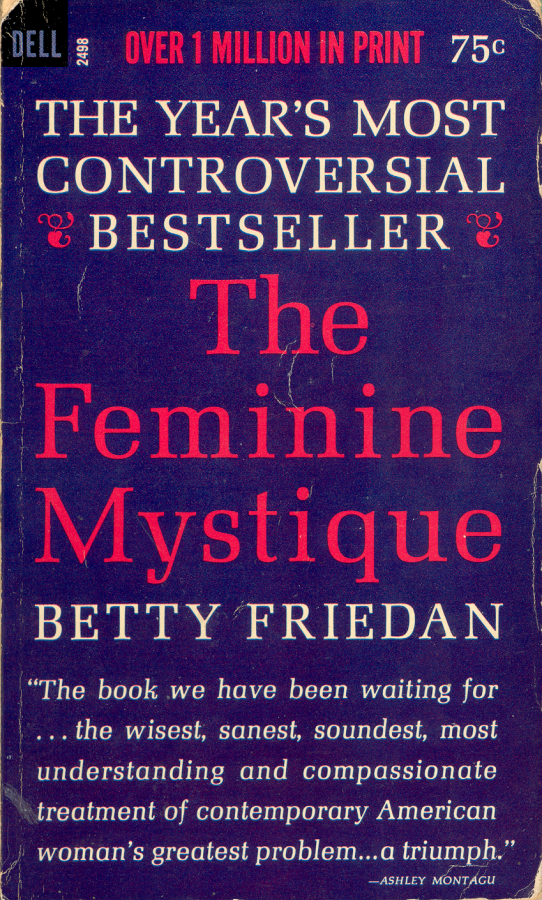 "the feminine mystique essay ""introduction"" is not in the 50th anniversary edition for some reason) however, it includes friedan's prefaces to earlier editions (10 years after) and an essay written in 1997, ""metamorphosis: two generations later"" friedan's later introductions and afterthoughts were important because they emphasized her work in creating."