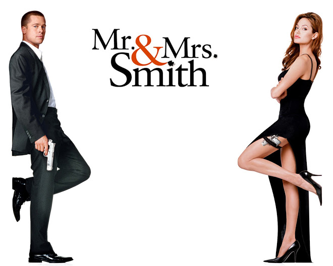 Movie Review Mr Mrs Smith 2005 Dave Does The Blog